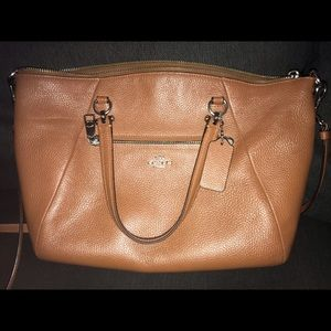 Coach Brown Prairie Satchel